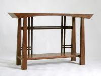 Masamune Japanese style custom entry table. Asian inspired ...