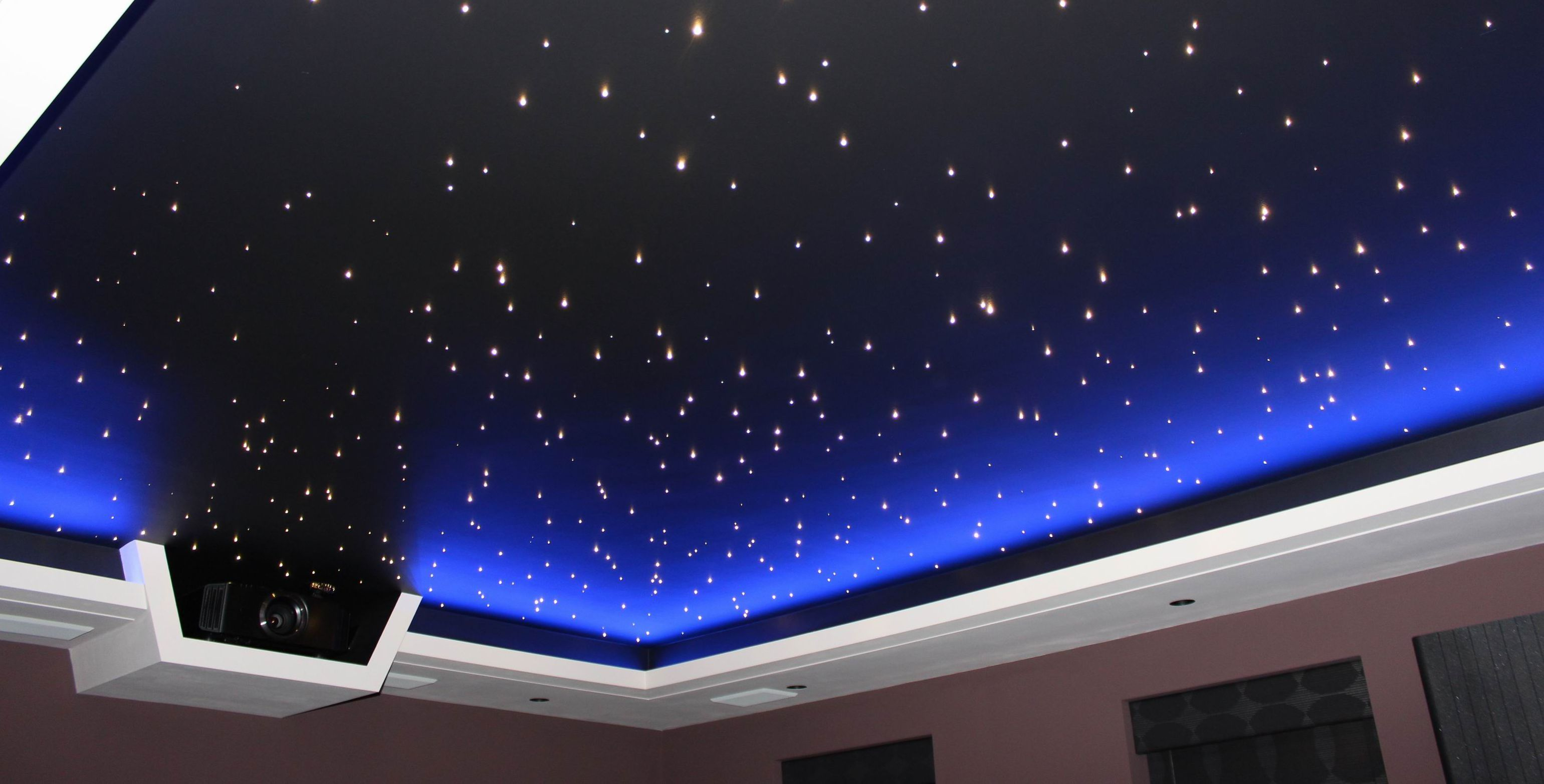 Home cimema star ceiling with blue led surround jpg 3081 1565
