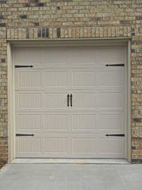 Overhead Door. Carriage Style Single 8' Garage Door With ...