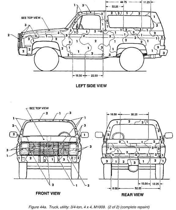 1985 k5 blazer ledningsdiagram