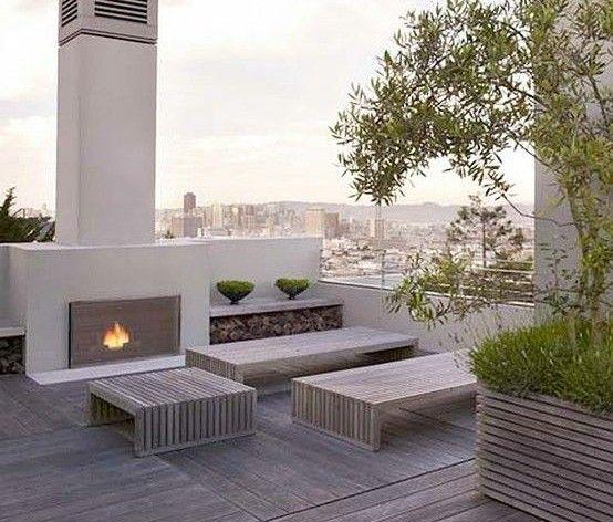 50 coole Ideen für Rooftop Terrassengestaltung_moderne - ideen terrasse gestalten