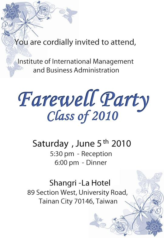 Farewell party invitation template node2001 cvresume party farewell party invitation drop dead party invitations as farewell party invitation template stopboris Images