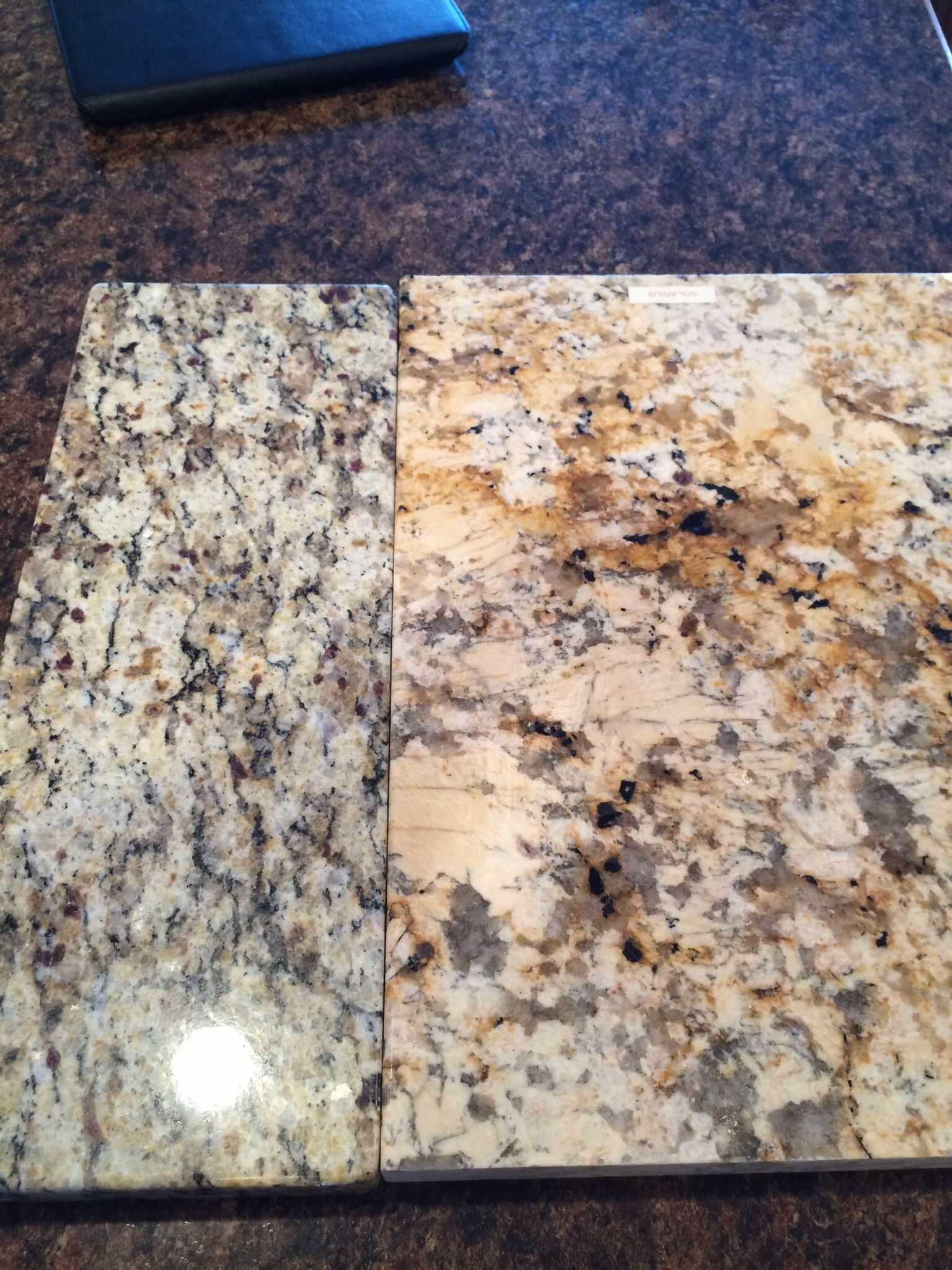 Limestone Countertops Vs Granite Santa Cecilia Vs Solarius Granite Kitchen Ideas