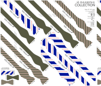 BOWTIE DIY: Dashing Collection fabric by avelis on ...