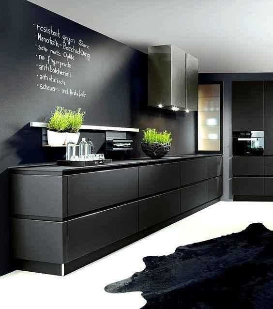 Stunning in Black! The absolutely stunning design from Schröder - moderne schroder kuchen