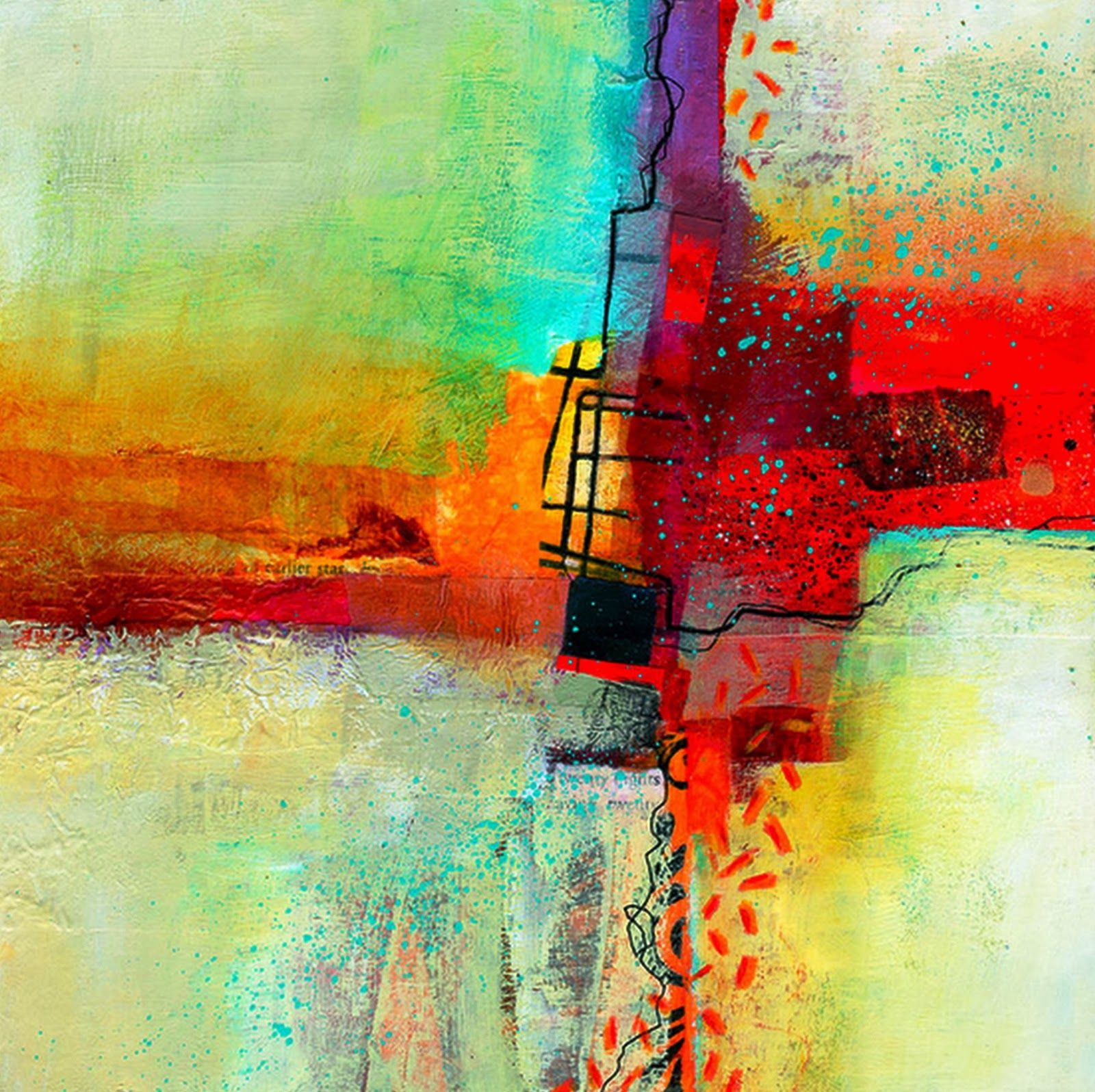 Pintura Contemporanea Pintura Abstracta Contemporánea Jane Davies Jane Estados