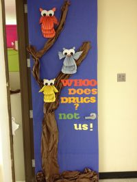 Best Red Ribbon Week Door Decorating Ideas Images On ...