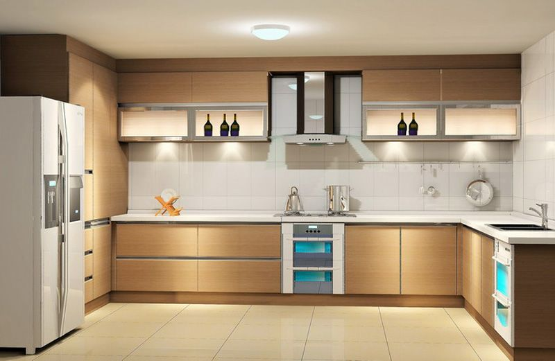Light Coloured Contemporary Kitchen Cabinets Ipc182 - Modern - contemporary kitchen design