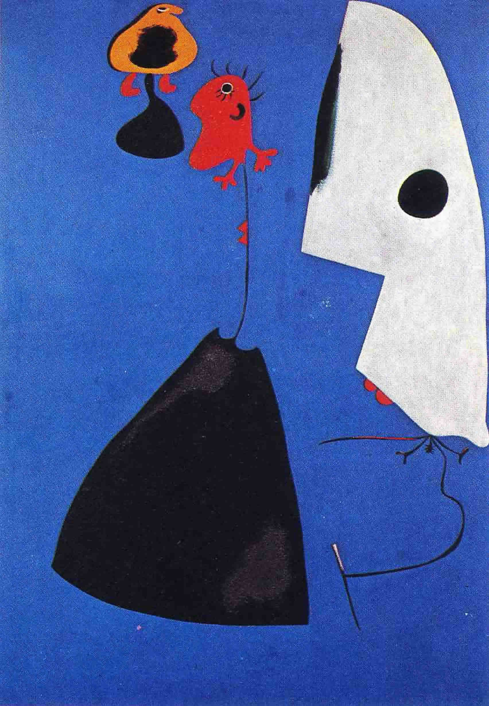 Joan Miro Joan Miró Three Women Joan Miró Pinterest Joan