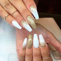21 Elegant and Amazing White | White nail designs, White ...