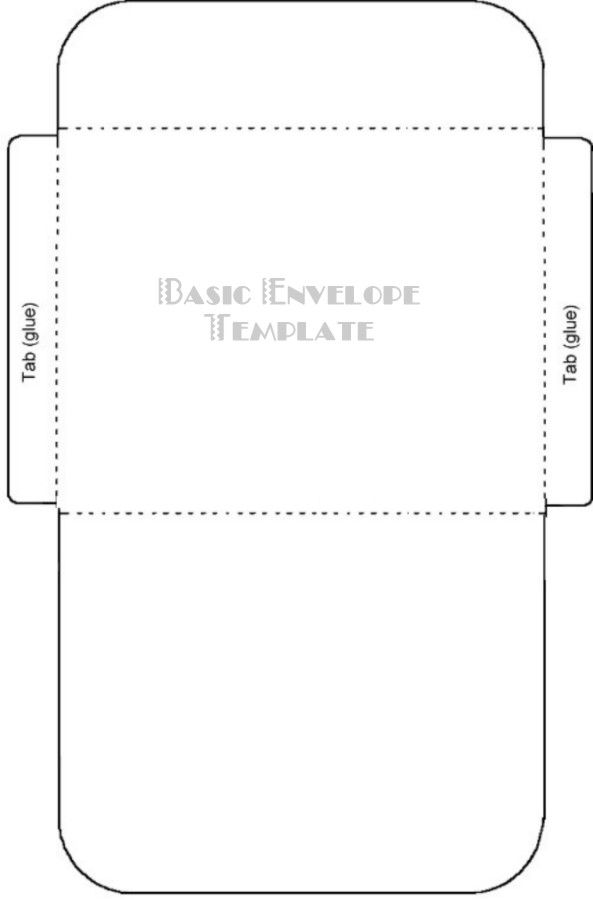 Free Printable Card\/Envelope Templates Teaching Pinterest - 4x6 envelope template