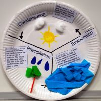 water cycle paper plates activities | This is an actvity ...