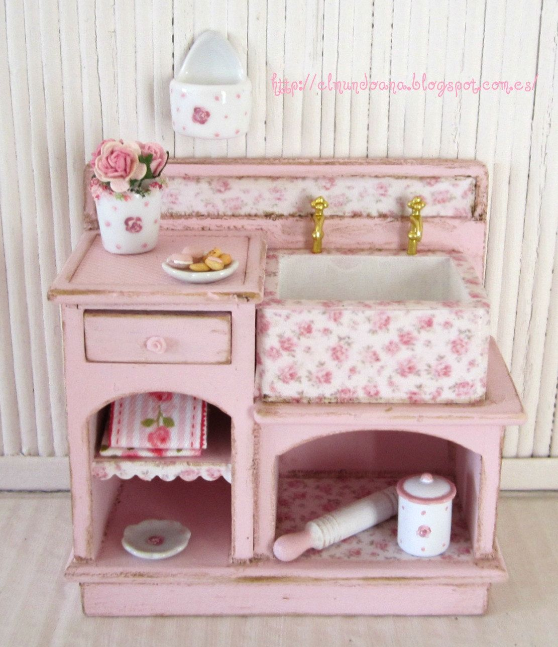 Baby Doll Küche Shabby Chic Furniture Scale 1 12 Shabby And Shabby