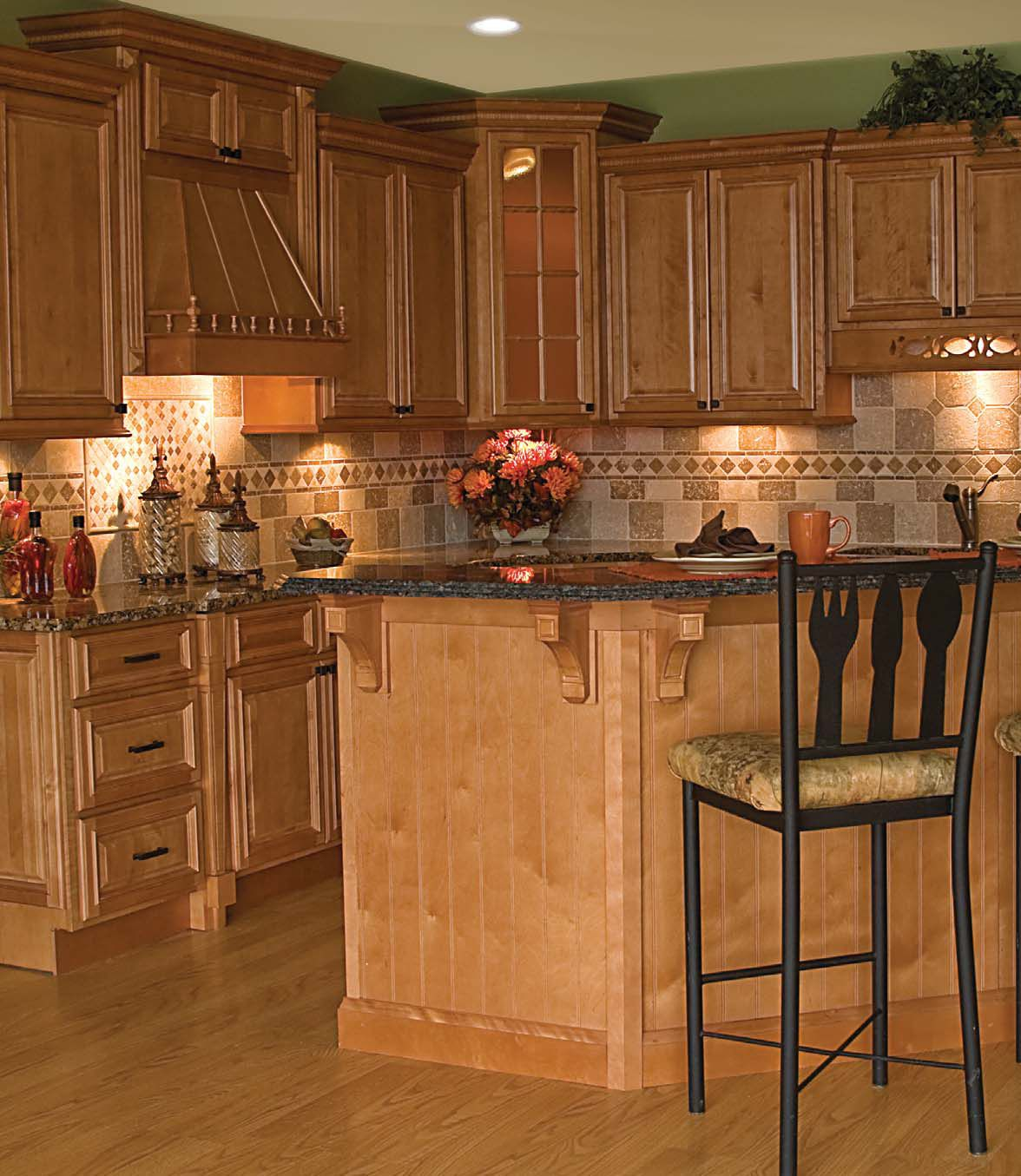 Get this look park house with oak kitchen cabinets - Get This Look Park House With Oak Kitchen Cabinets Oak Cabinets And Granite Download