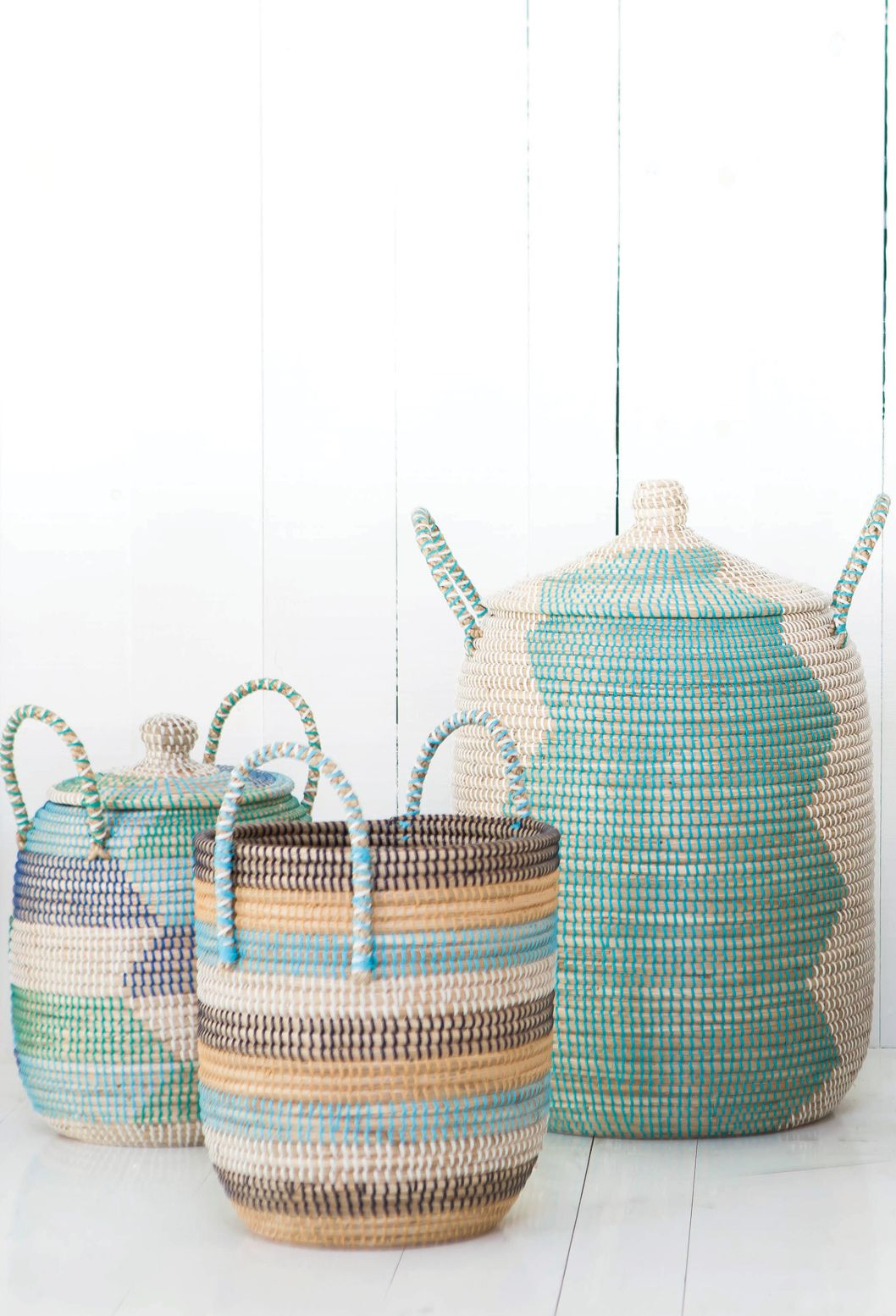 Decorative Laundry Baskets Vietnamese Baskets Handmade From Weylandts