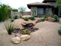 Desert Landscape Front Yard. Tribelle.co | desert ...