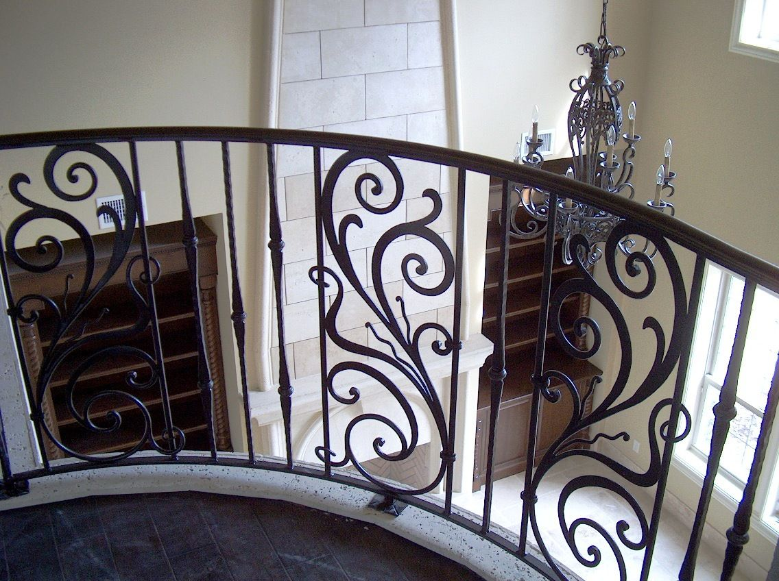 Ornamental wrought iron stair railings google search