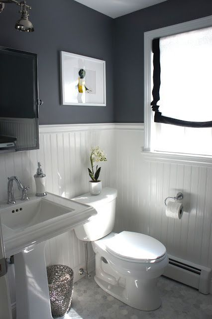 ideas to decorate a small bathroom to make it look bigger with - small bathroom paint ideas
