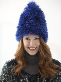 Fun Fur Troll Hat (Knit) | Knit Scarfs &Hats | Pinterest ...