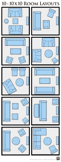 10 10x10 Living Room Layouts