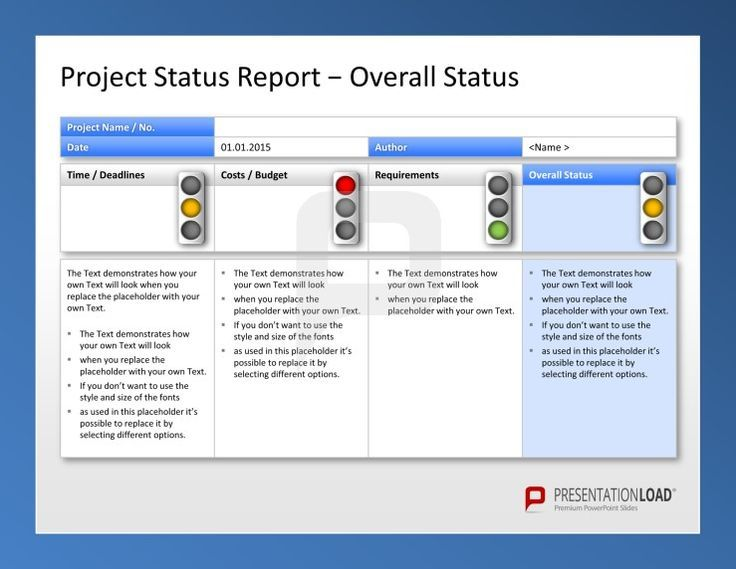 Create Weekly Project Status Report Template Excel u2013 Microsoft - it report template