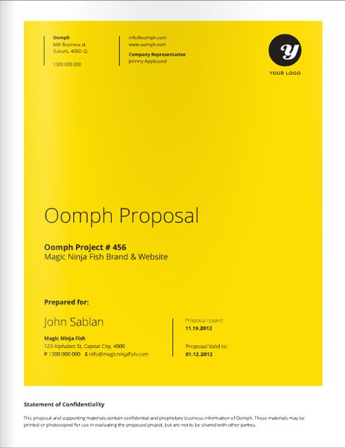Freelance Designer Proposal Template for download at a great deal - graphic design proposal template
