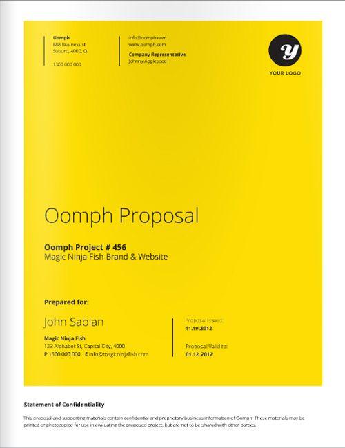 Freelance Designer Proposal Template for download at a great deal - freelance proposal template