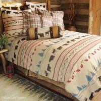 Country Bedding Moose and Bear Bedding Set | Cabin Bedding ...