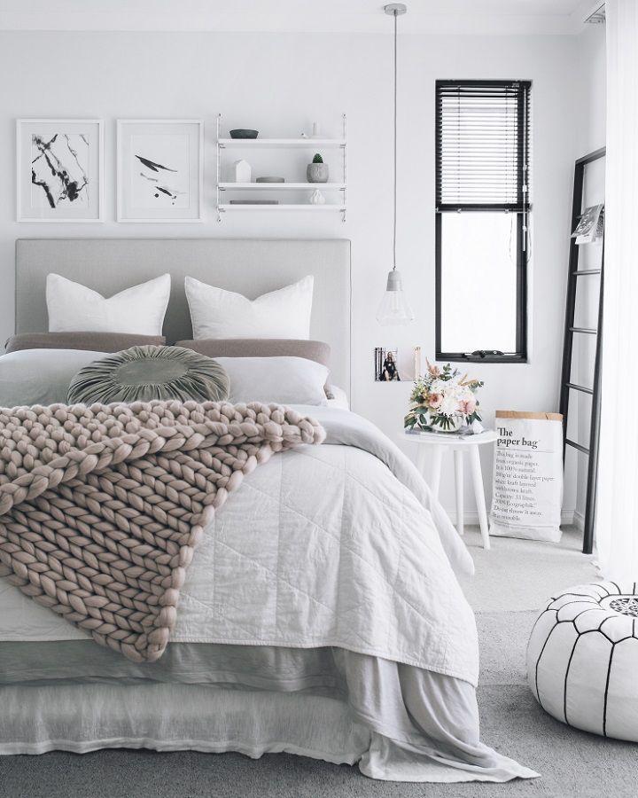 40 Gray Bedroom Ideas Bedrooms, Gray and Room - grey bedroom ideas