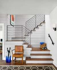 farmhouse staircase by Clayton&Little Architects  Love