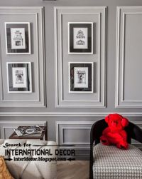 Decorative wall molding or wall moulding designs ideas and ...