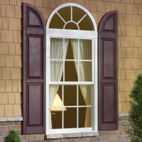 These window shutter accessories are call transom + arch ...
