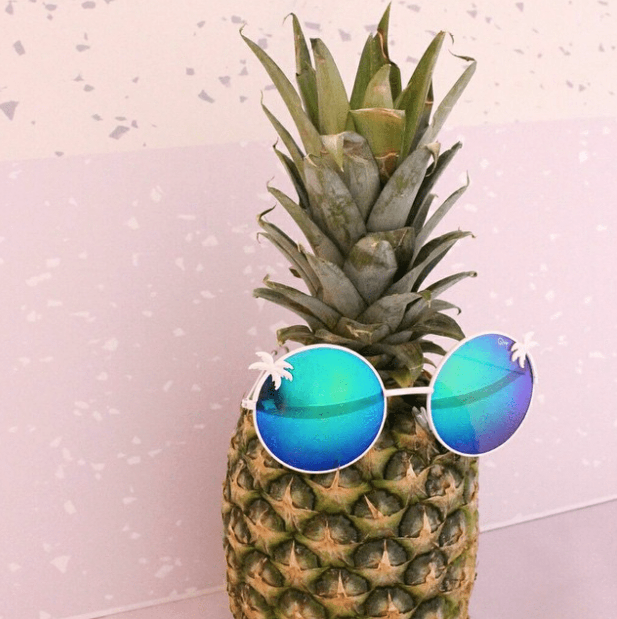 Pineapple With Sunglasses Tumblr Pineapple Wearing Sunglasses Summer Summertime Vibes