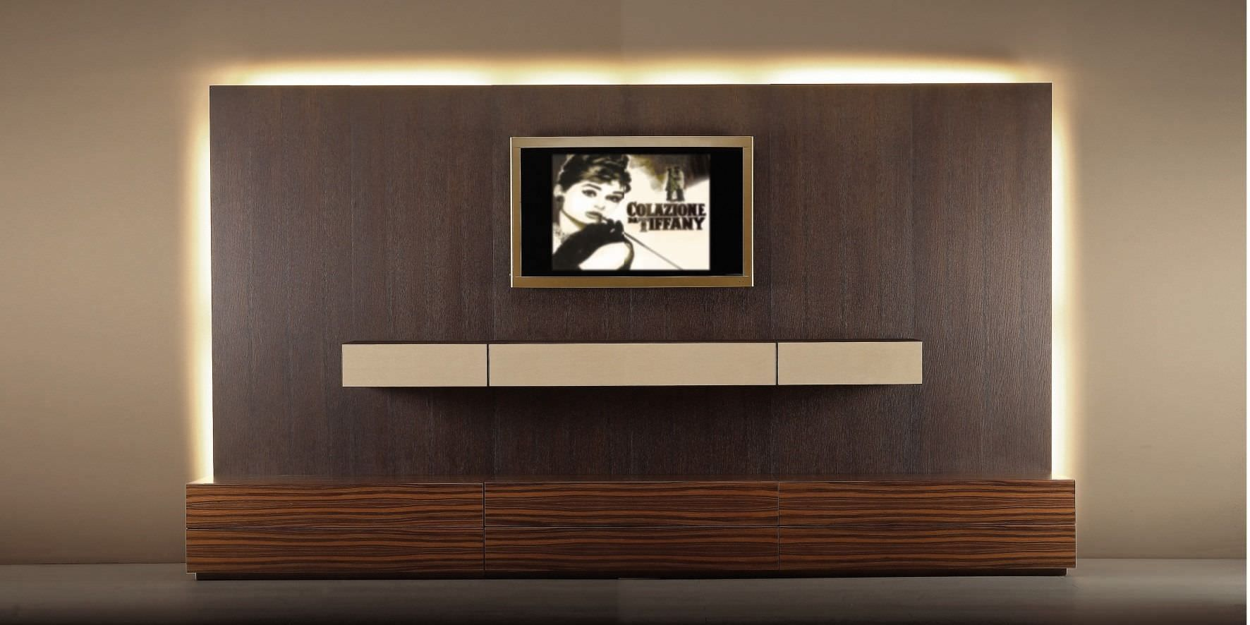 Contemporary Tv Wall Unit Designs Contemporary Tv Wall Unit Wood With Wooden Cabinet