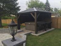 Hot Tub Gazebo backyard idea #spa | Outdoor Spa Living ...