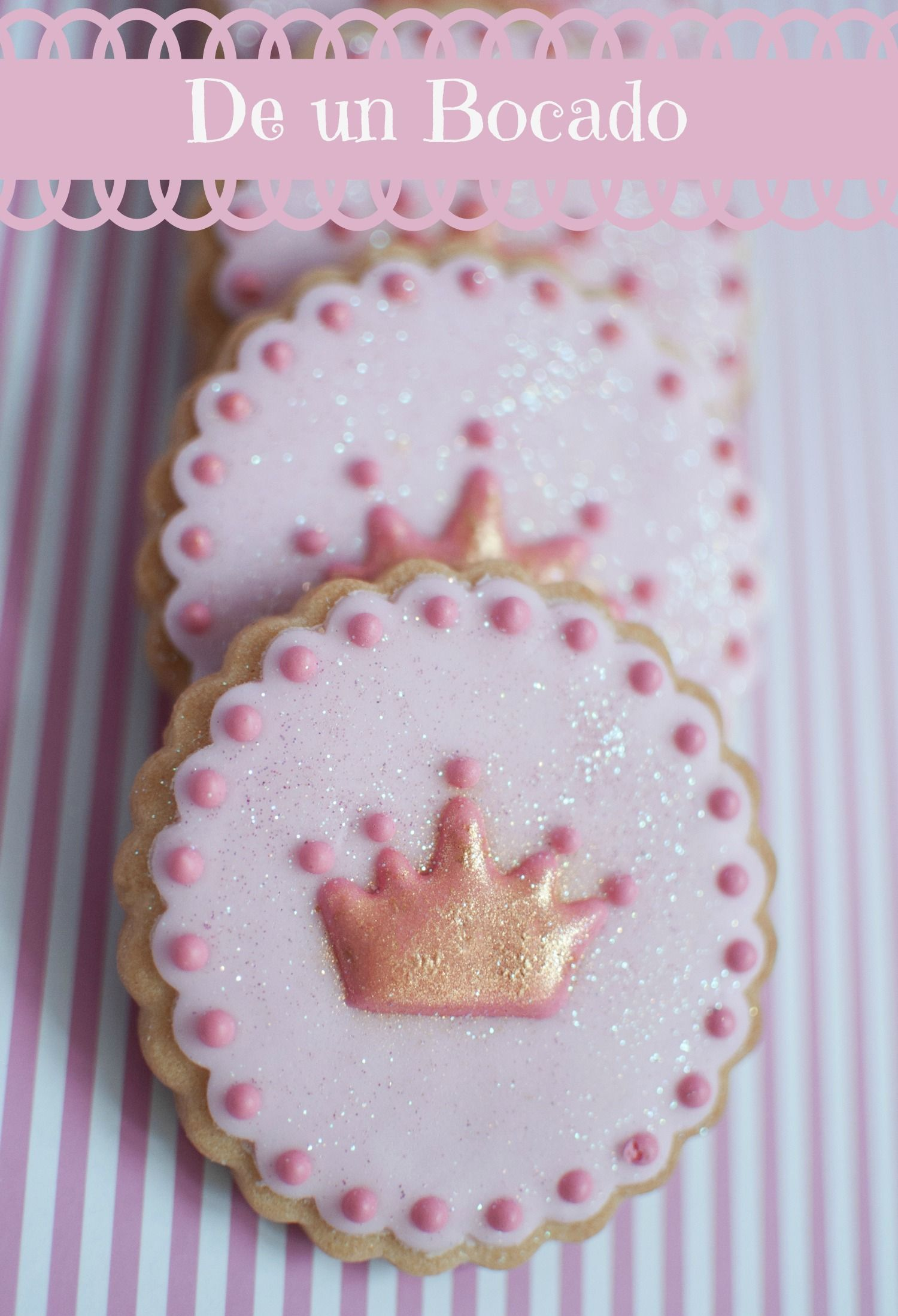 Galletas Decoradas De Princesas Princess Cookies Galletas De Princesa Cookies Coronitas