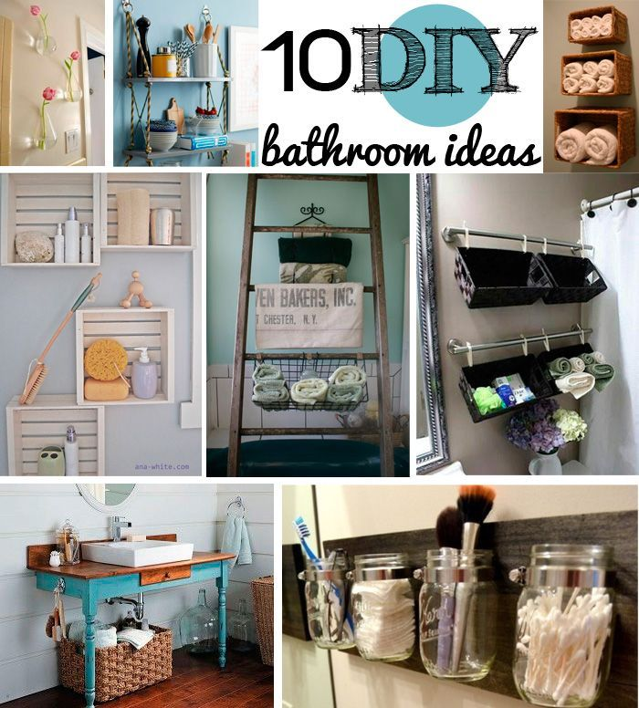 DIY Bathroom Decor Ideas is one of the home design images that can - bathroom decorating ideas diy