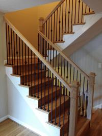 Interior Wrought Iron Stair Railings. Iron Staircase ...