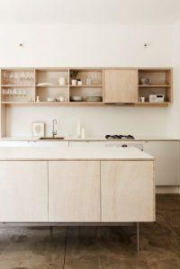 Plywood Kitchen on Pinterest