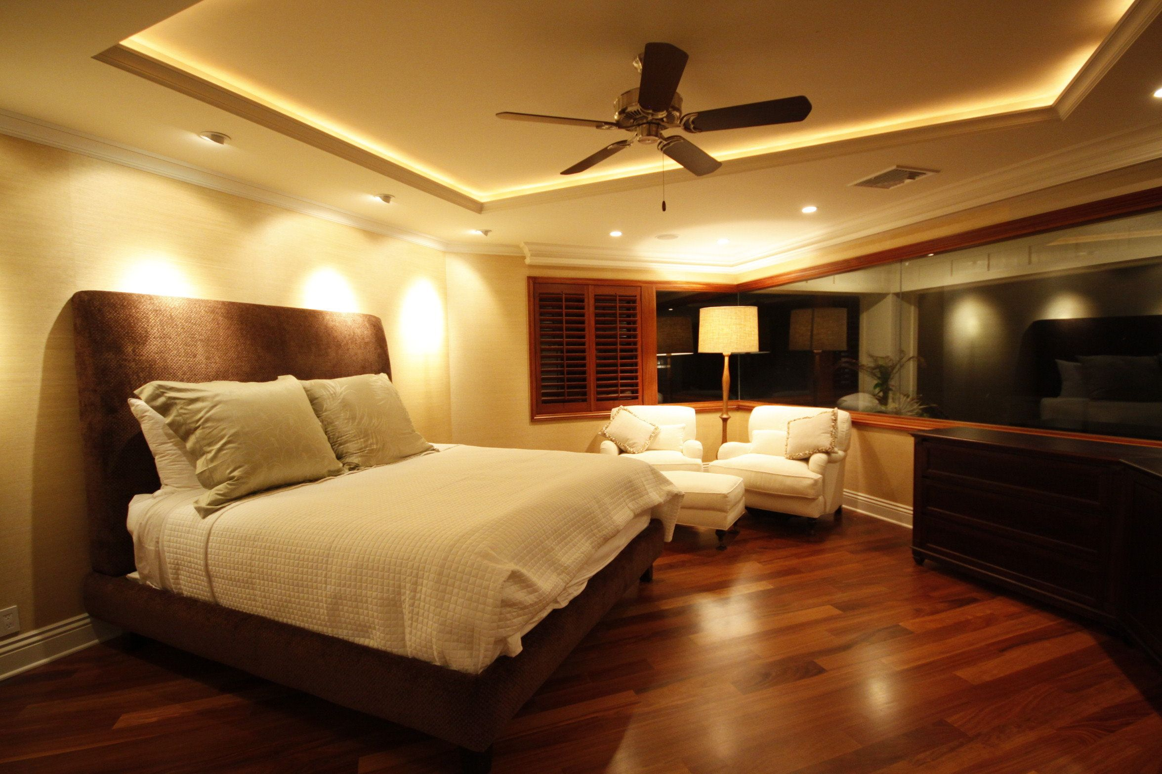 Modern Master Bedroom Appealing Master Bedroom Modern Decor With Wooden Floors