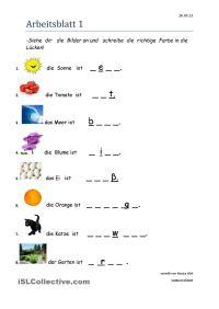 Farben | Farben, Deutsch und Deutsch lernen