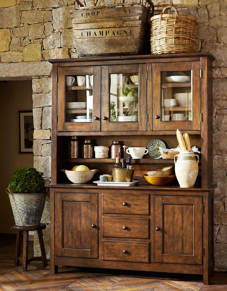 Rustic Lodge Outdoor Spaces Photo Gallery Design Studio - living room hutch