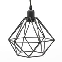 Black Wire Pendant Light Miafleur Notonthehighstreet.com ...