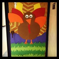 Thanksgiving door decoration! | For the classroom ...