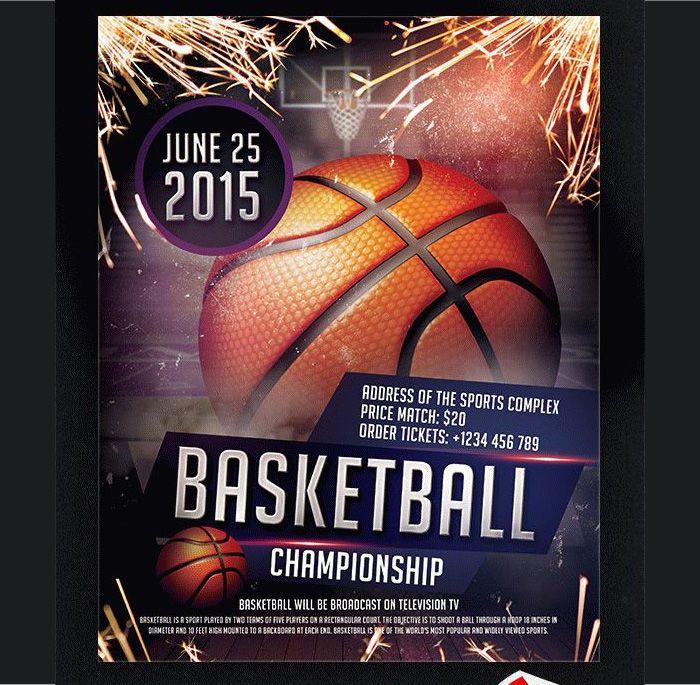 Basketball Flyer PSD Templates Flyer Templates Pinterest Psd - basketball flyer example