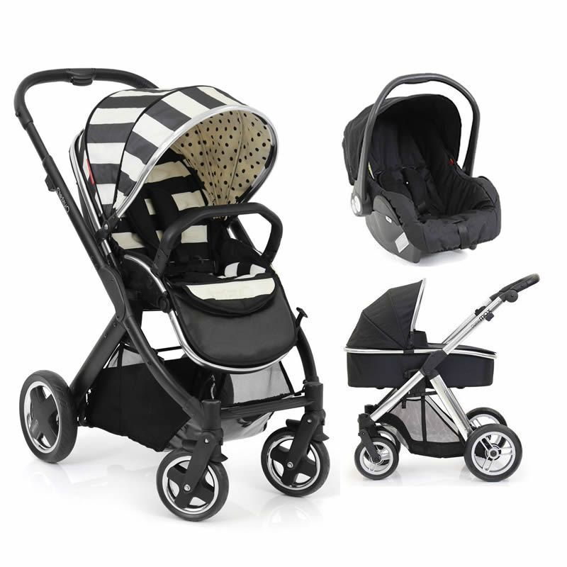 Britax Double Pushchair Reviews Babystyle Vogue Oyster 2 Black Satin 3in1 Travel System
