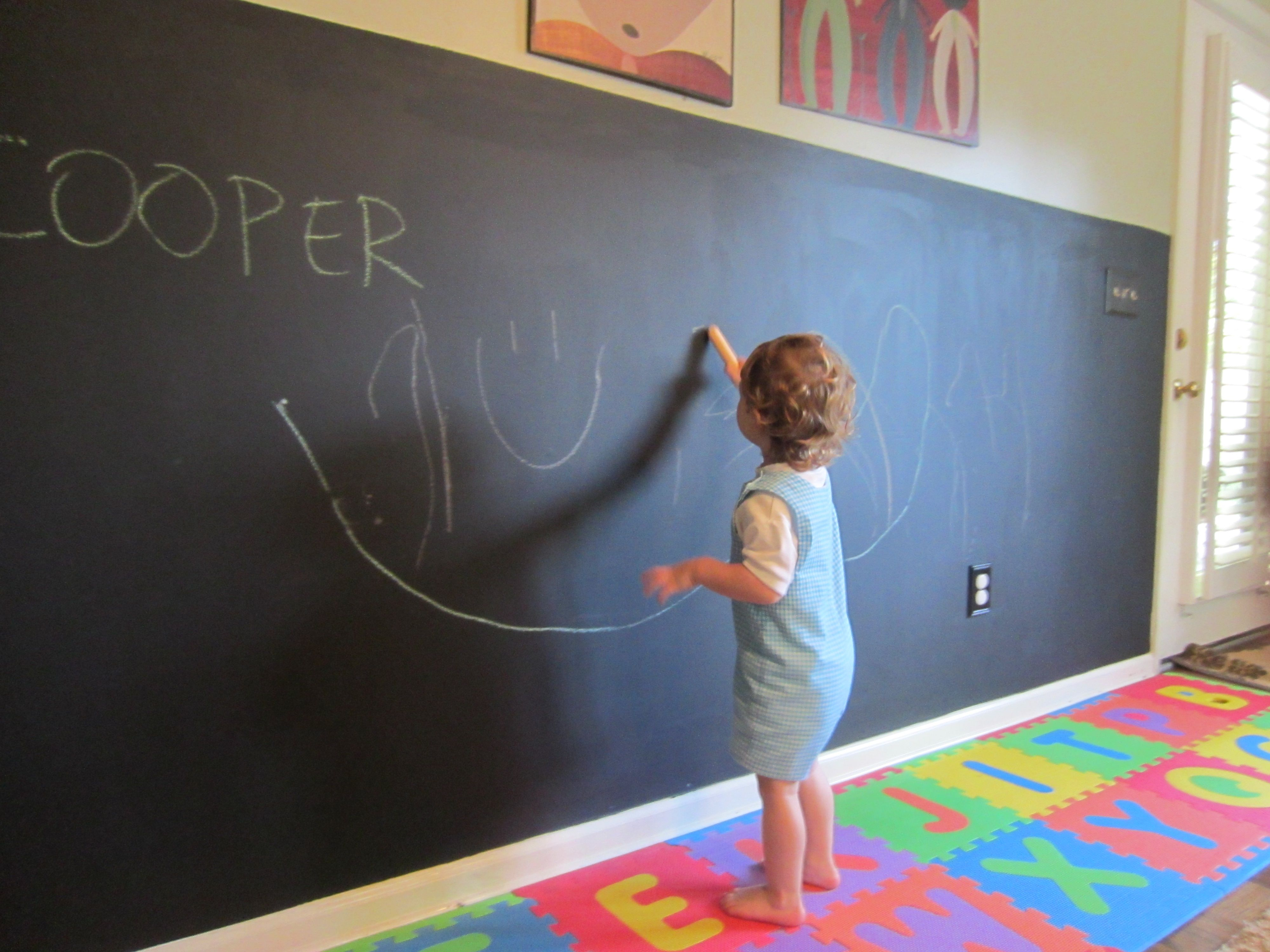 Walls For Kids Chalkboard Wall In Playroom This Is Will In My Children
