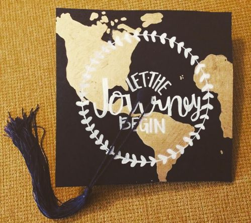 Ideal Diy Graduation Cap Ideas That Will Majorly Inspire You Hopefully Your Journey Started At Cu Boulder Pin Is Continuing On To Good Graduation Cap Quotes Graduation Cap Quotes 2016