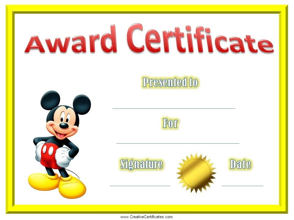 Certificate Template For Kids certificates for kids A a E e I i - certificate template for kids
