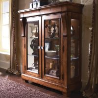 Tuscano Curio Glass Door Display Cabinet by Kincaid ...